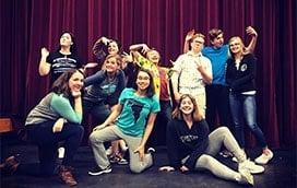 Improv workshop group picture